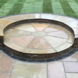 Stone Paving Circles