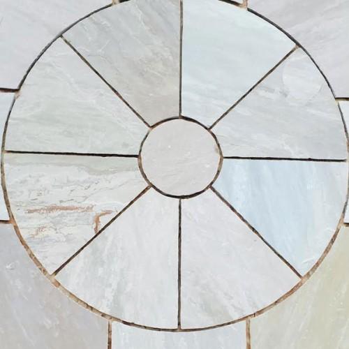 Kandla Grey Sandstone Paving Circles