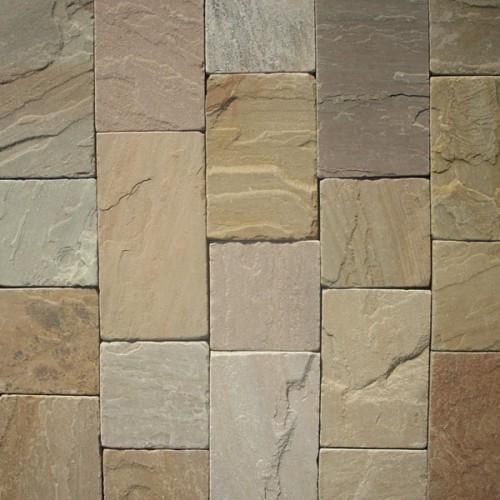 Raj Green Natural Sandstone Drivestone Sets