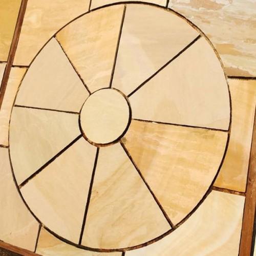 Rippon Natural Sandstone Paving Circle