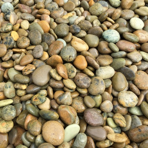 Gravel River Pebbles