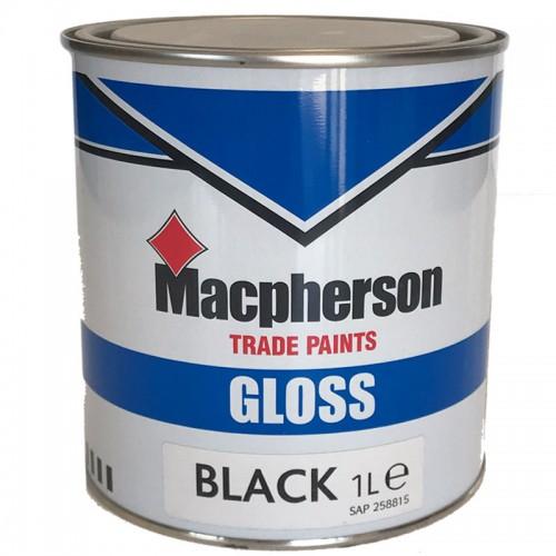 BLACK GLOSS 1 LITRE
