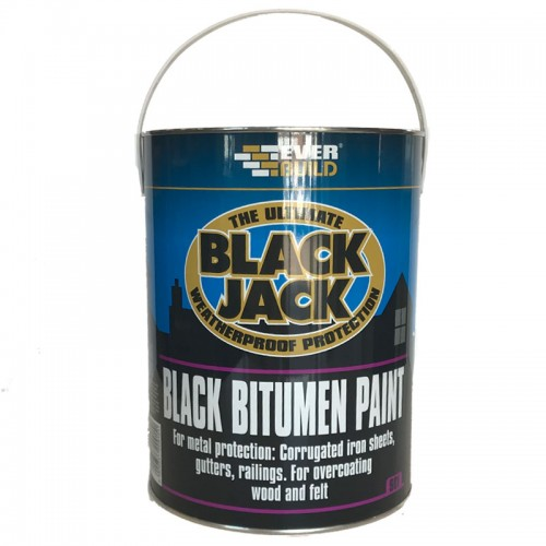 BLACK JACK BITUMEN PAINT