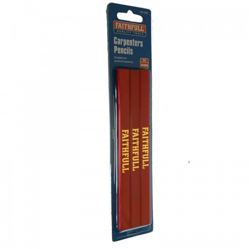 CARPENTERS PENCILS RED