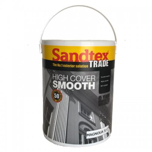 SANDTEX TRADE HIGH COVER SMOOTH MAGNOLIA 5 LITRE