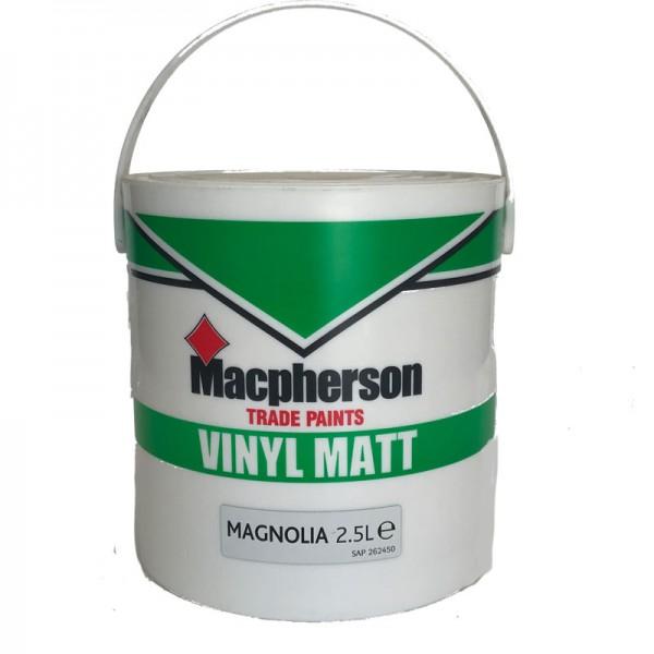 Vinyl Matt Magnolia 2 5 Litre