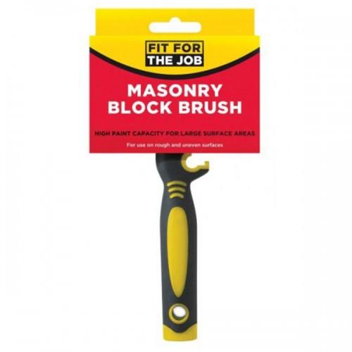 MASONRY/EXTERIOR BLOCK BRUSH