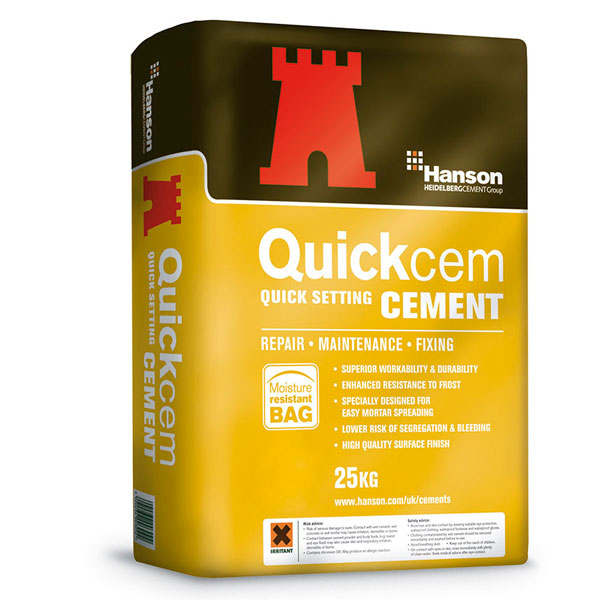Quick Setting Cement : Quickcem